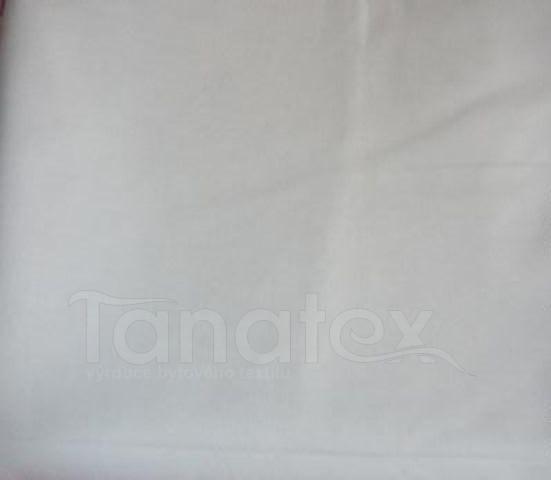 Metráž bílá - 240cm - jednobarevná bavlna