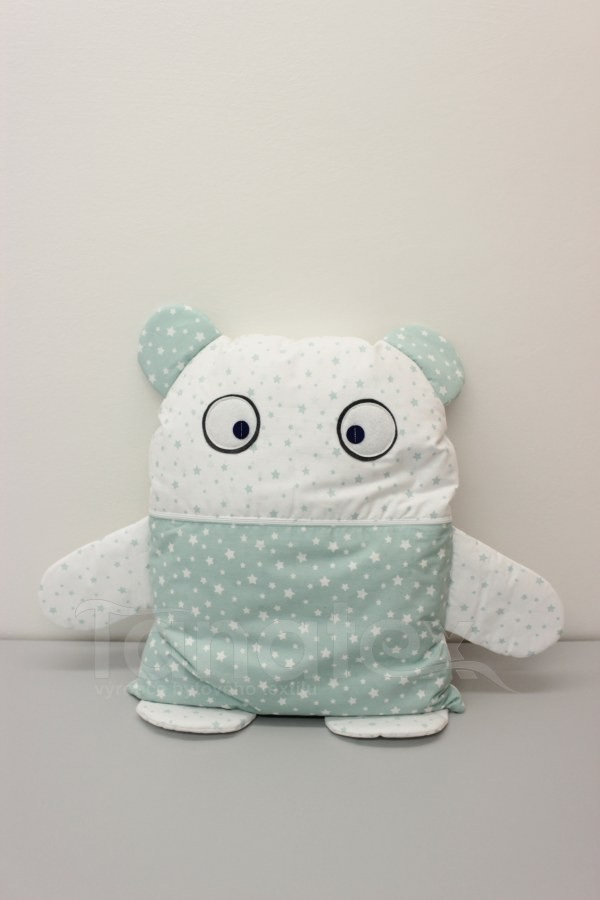 Pyžamožrout - Strašydýlko mentolové hvězdičky v bílé - Pyžamožrout - Žrout snů