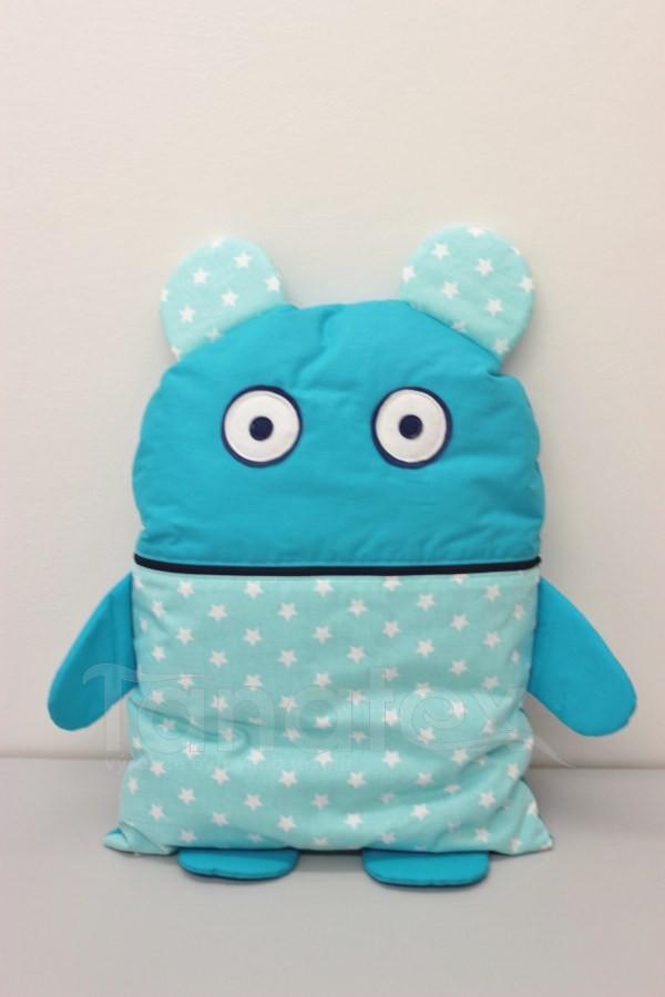 Pyžamožrout - Strašidýlko tyrkysové s hvězdičkami - Pyžamožrout - Žrout snů