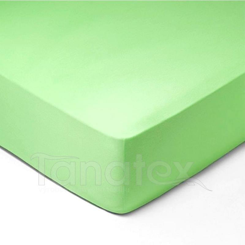 Prostěradlo jersey č.35 světle zelené