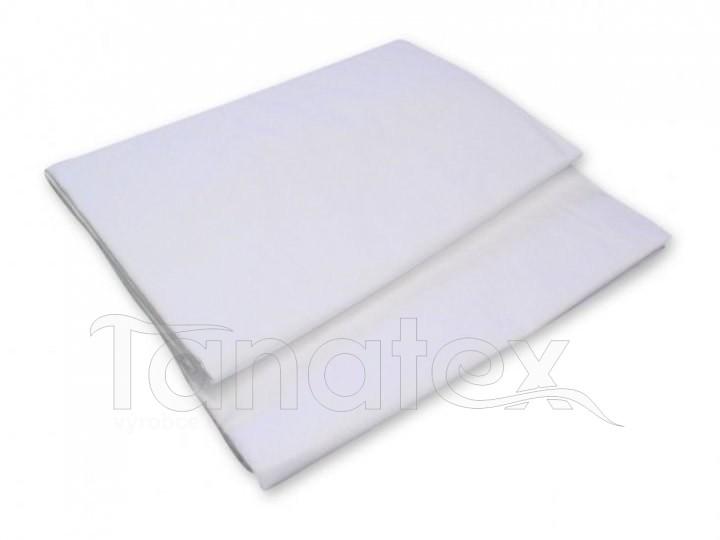 PROSTĚRADLO PLACHTA bílé 150x220 - na jednolůžko