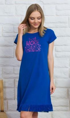 Dámská noční košile s krátkým rukávem More smile