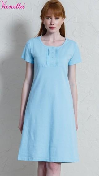 Dámská noční košile s krátkým rukávem Petra - krátký rukáv