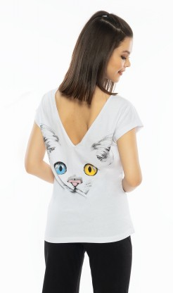 Dámské pyžamo kapri Velká kočka