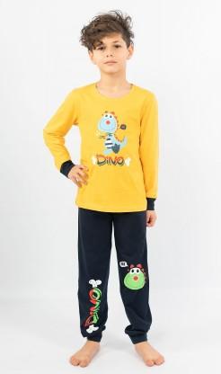 Dětské pyžamo dlouhé Dino