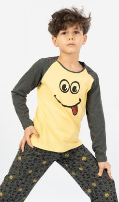 Dětské pyžamo dlouhé Jakub - Děti | Kluci | Chlapecká pyžama | Chlapecká pyžama s dlouhým rukávem
