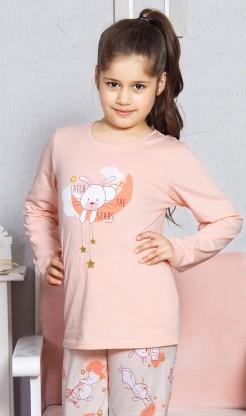 Dětské pyžamo dlouhé Králík velký - dlouhý rukáv