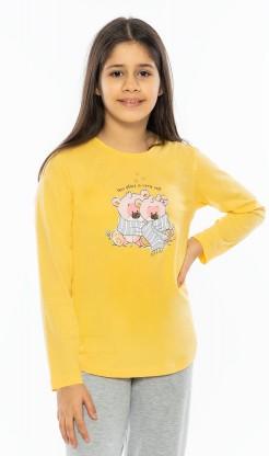 Dětské pyžamo dlouhé Méďové