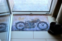 Rohožka Motorka - California 66 koberečky